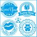 Stencil-Litoarte-20x20cm-STXX-201-Selos-Love-You