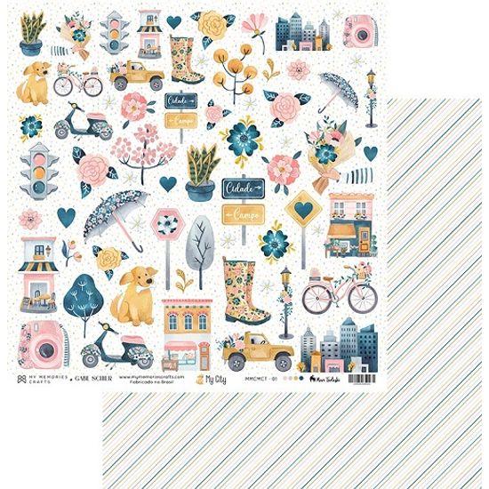 Papel-Scrapbook-My-Memories-Crafts-305x305-MMCMCT-001-Cidade-e-Campo