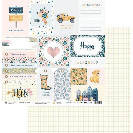 Papel-Scrapbook-My-Memories-Crafts-305x305-MMCMCT-003-Tags-e-Quadriculados