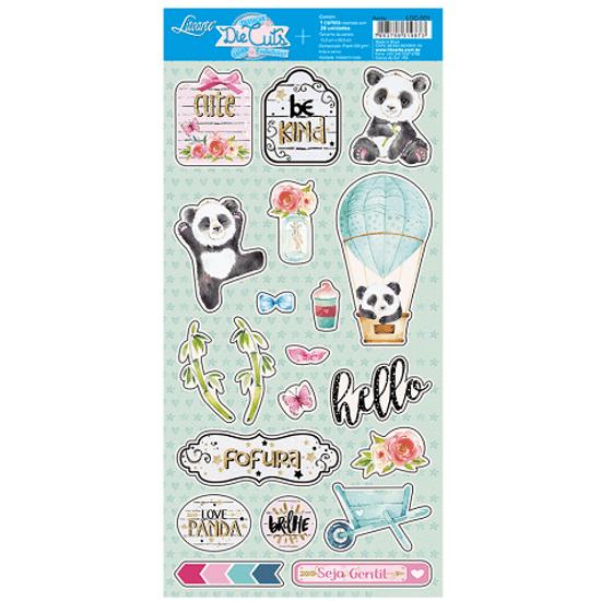 Apliques-de-Papel-Recortado-Litoarte-LDC-001-Die-Cuts-Scrapbook-Panda