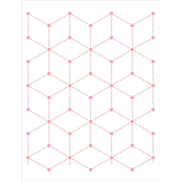Stencil-Opa-32x42cm-3106-Estamparia-Geometrica-Bolinhas