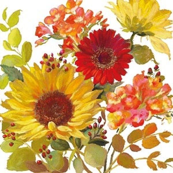 Guardanapo-Decoupage-Ambiente-Sunny-Flowers-Cream-13315020-2-unidades