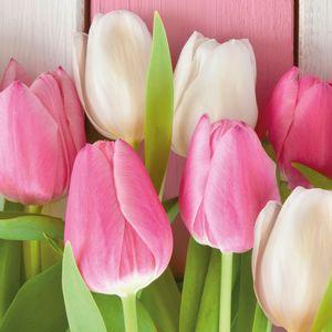 Guardanapo-Decoupage-Ambiente-1332384-White---Pink-Tulips-2-unidades