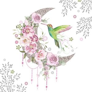 Guardanapo-Decoupage-Ambiente-1333654-Hummingbird-Bird-2-unidades