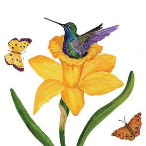 Guardanapo-Decoupage-Ambiente-1333973-Daffodil-Nest-Napkin-2-unidades