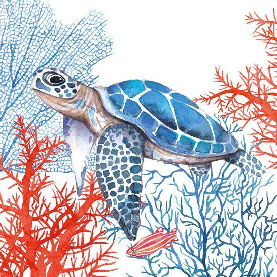 Guardanapo-Decoupage-Ambiente-1334037-The-Turtle-Napkin-2-unidades