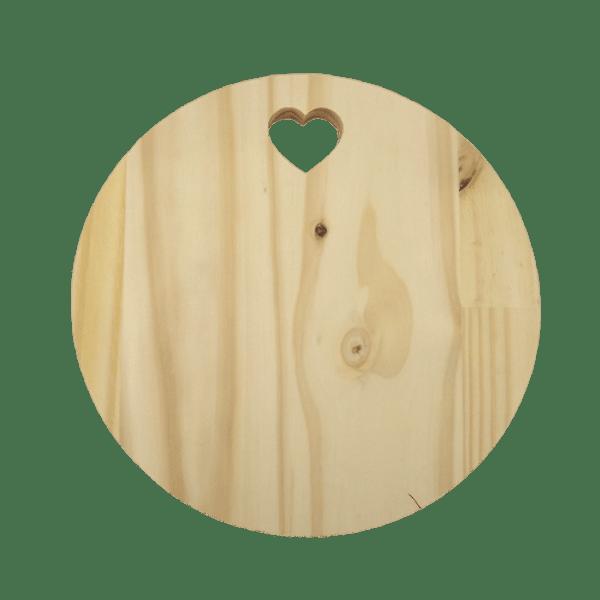 Tabua-Decorativa-em-Madeira-Pinus-Palacio-da-Arte-25x25x18cm-Redonda-com-Coracao-Vazado