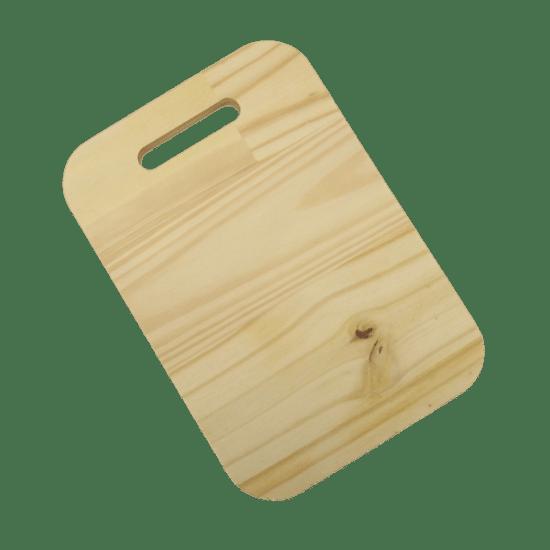 Tabua-Decorativa-em-Madeira-Pinus-Palacio-da-Arte-28x195x18cm-Retangular-Lisa-com-Alca