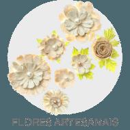 Scrapbook - Flores Artesanais