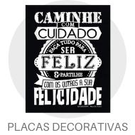 Madeira Decorada - Placas Decorativas