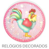 Madeira Decorada - Relógios