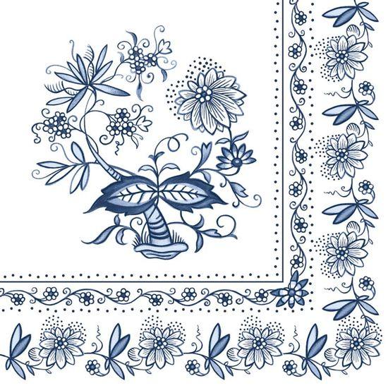 Guardanapo-Decoupage-Ambiente-13306200-Blue-Onion-2-unidades