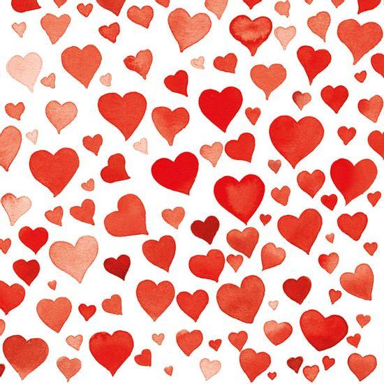 Guardanapo-Decoupage-Ambiente-13309091-Colourful-Hearts-Red-2-unidades