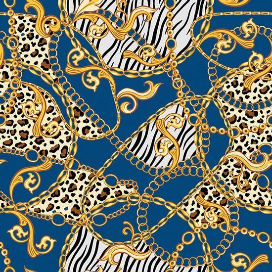 Guardanapo-Decoupage-Ambiente-13314607-Golden-Pattern-Blue-2-unidades