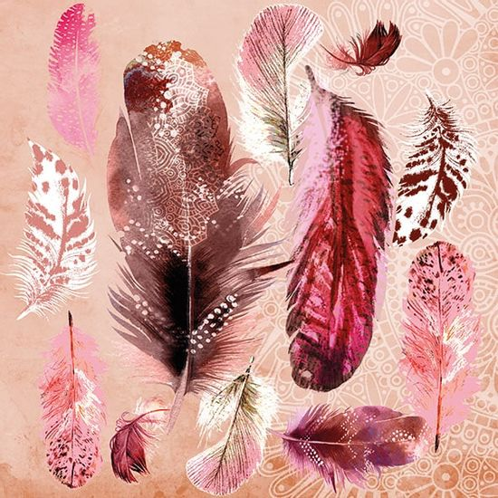 Guardanapo-Decoupage-Ambiente-13315030-Feather-Mix-2-unidades