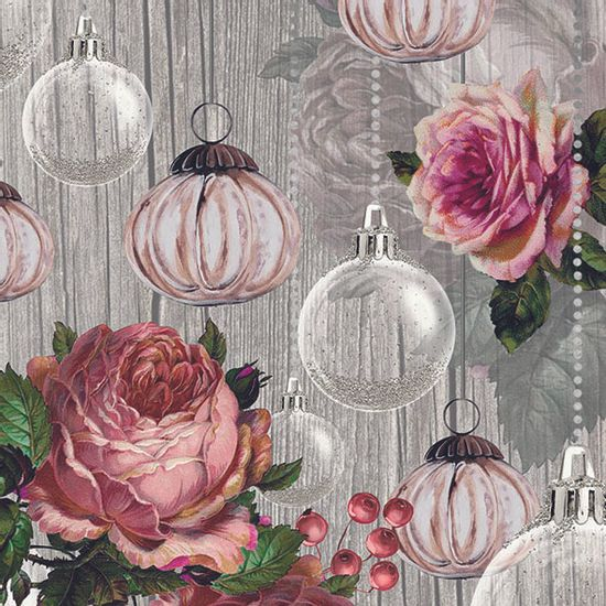 Guardanapo-Decoupage-Ambiente-33314690-Roses-And-Bauble-Rose-2-unidades
