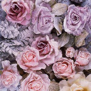 Guardanapo-Decoupage-Ambiente-33315270-Winter-Roses-2-unidades