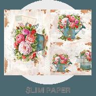 Decoupage - Slim Paper