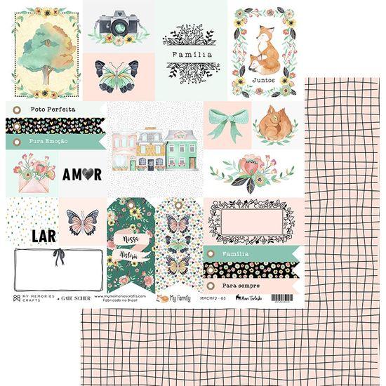 Papel-Scrapbook-My-Memories-Crafts-305x305-MMCMF2-003-Tags-Familia-e-Quadriculados