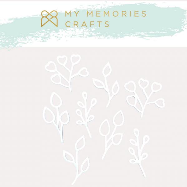 Kit-Apliques-em-Acrilico-Adesivados-My-Memories-Crafts-MMCMW2-012-Folhagens