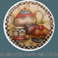 Decoupage - Adesivos para Relogio