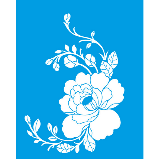Stencil-Litocart-25x20-LSG-007-Cantoneira-Flores