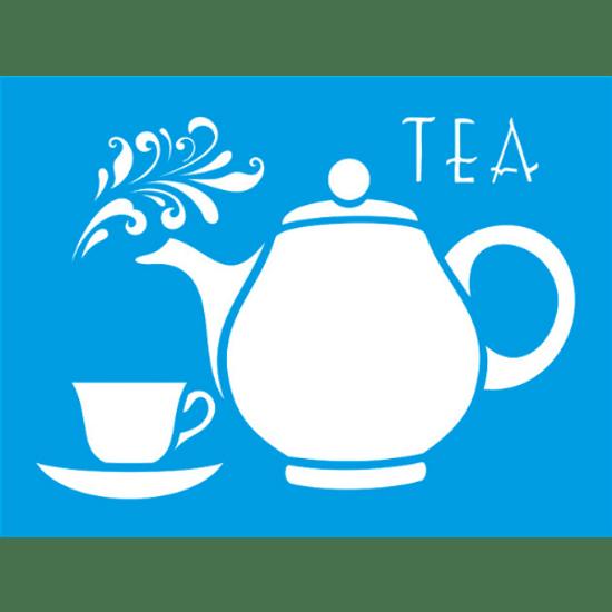 Stencil-Litocart-20x15-LM-001-Tea-Bule