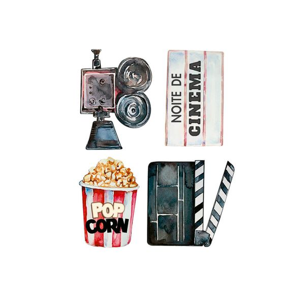 Aplique-Papel-Decoupage-em-Mdf-Litoarte-APM3-293-Noite-do-Cinema-3cm