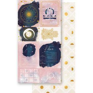 Papel-Scrapbook-Litoarte-15x295cm-SDH-007-Signo-Libra