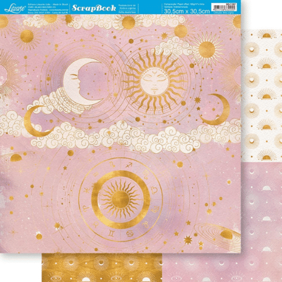Papel-Scrapbook-Litoarte-305x305cm-SD-1197-Sol-e-Lua