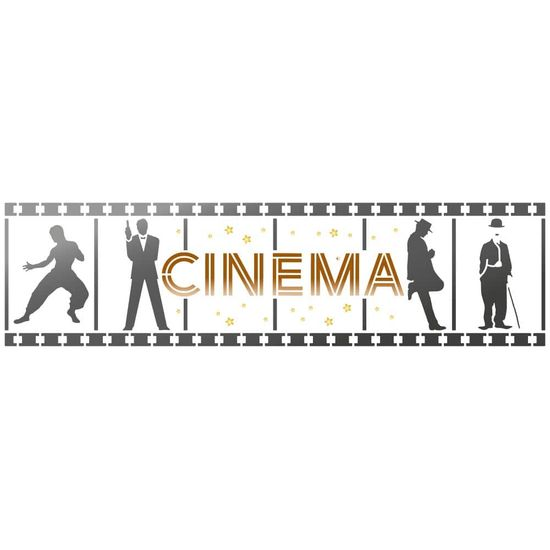Stencil-Litoarte-8x28cm-STE-373-Cinema