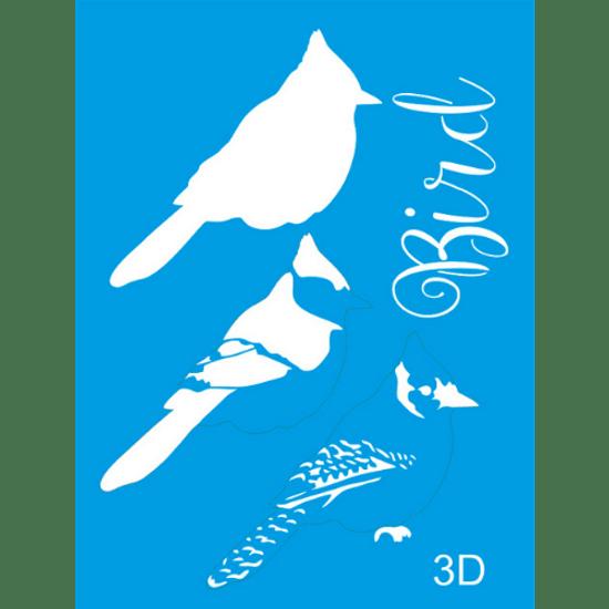Stencil-Litocart-20x15-LSM-032-Bird-2