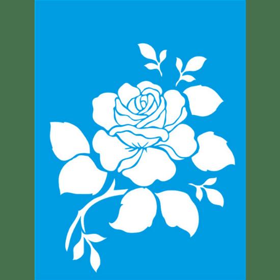 Stencil-Litocart-20x15-LSM-027-Rosa-Flor