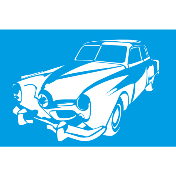 Stencil-Litocart-30x20-LSS-003-Carro-Antigo