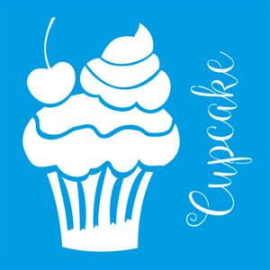 Stencil-Litocart-14x14-LSP-016-Cupcake-com-Cereja