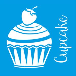 Stencil-Litocart-14x14-LSP-017-Cupcake-com-Morango