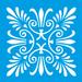 Stencil-Litocart-10x10cm-LSX-001-Azulejo-Arabesco
