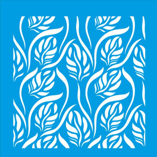 Stencil-Litocart-20x20-LSQ-022-Estampa-Folhas