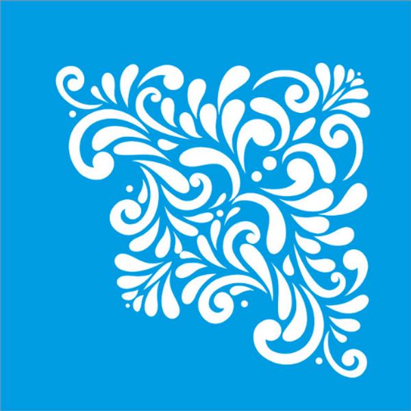 Stencil-Litocart-20x20-LSQ-035-Cantoneira-Arabesco