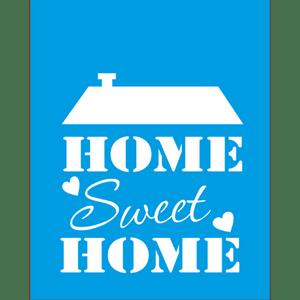 Stencil-Litocart-25x20-LSG-030-Sweet-Home