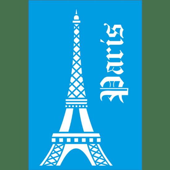 Stencil-Litocart-30x20-LSS-013-Torre-Eiffel