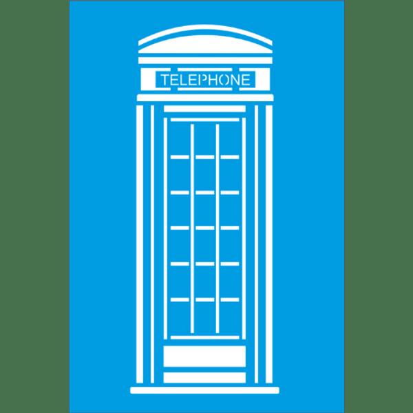 Stencil-Litocart-30x20-LSS-015-Telephone-Londres
