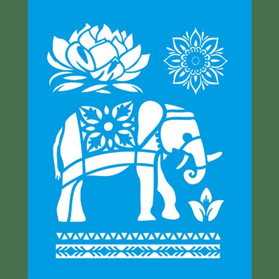 Stencil-Litocart-25x20-LSG-069-Elefante