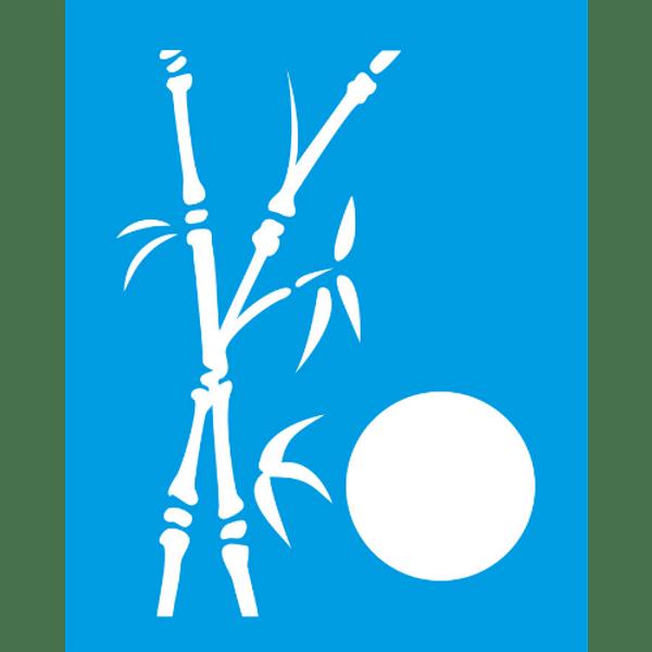 Stencil-Litocart-25x20-LSG-077-Bambu