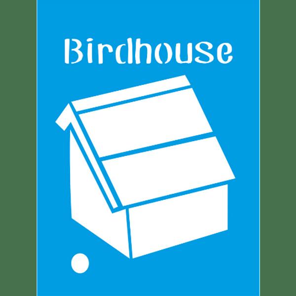 Stencil-Litocart-20x15-LSM-060-Bird-House