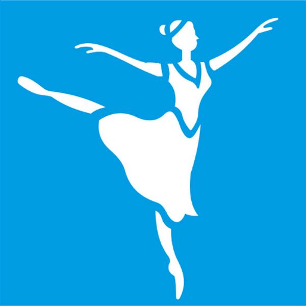 Stencil-Litocart-10x10cm-LSX-029-Bailarina