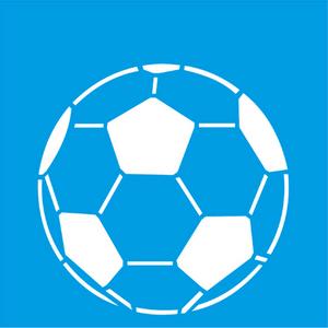 Stencil-Litocart-10x10cm-LSX-031-Bola-de-Futebol
