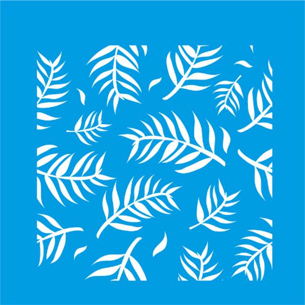 Stencil-Litocart-14x14-LSP-036-Folhas