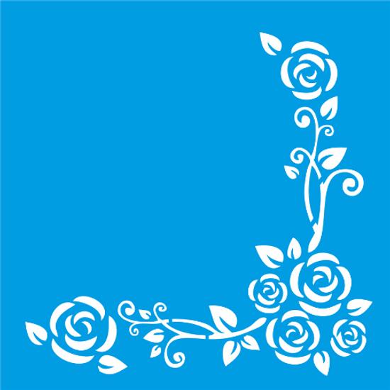 Stencil-Litocart-14x14-LSP-040-Cantoneira-Flores