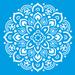Stencil-Litocart-25x25-LSPQ-006-Mandala-Floral